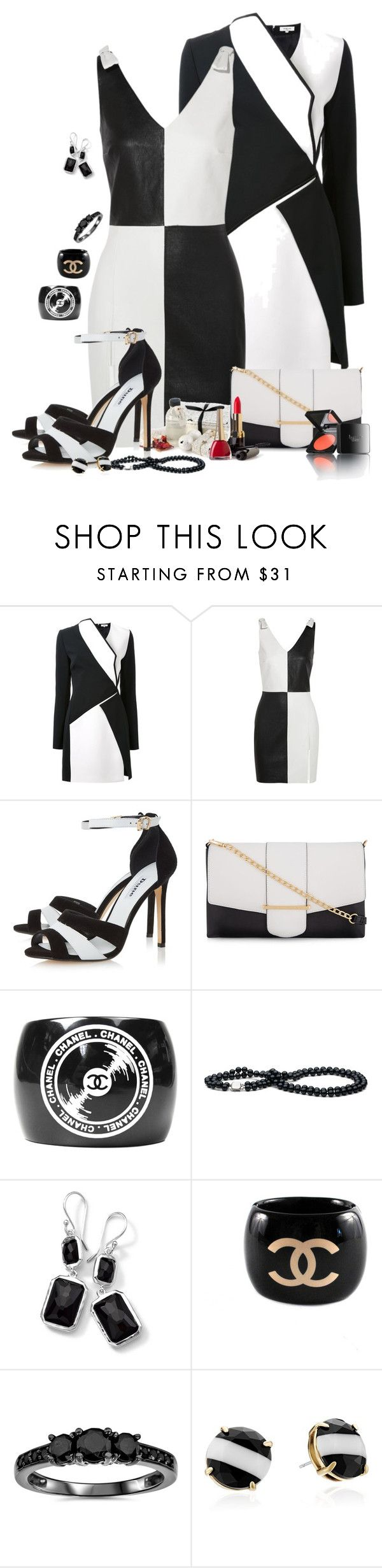 """Untitled #1516"" by patsypatsy ❤ liked on Polyvore featuring Thierry Mugler, Yves Saint Laurent, Dune, Kardashian Kollection, Chanel, Ippolita, Bliss Diamond, Kate Spade and Henri Bendel"