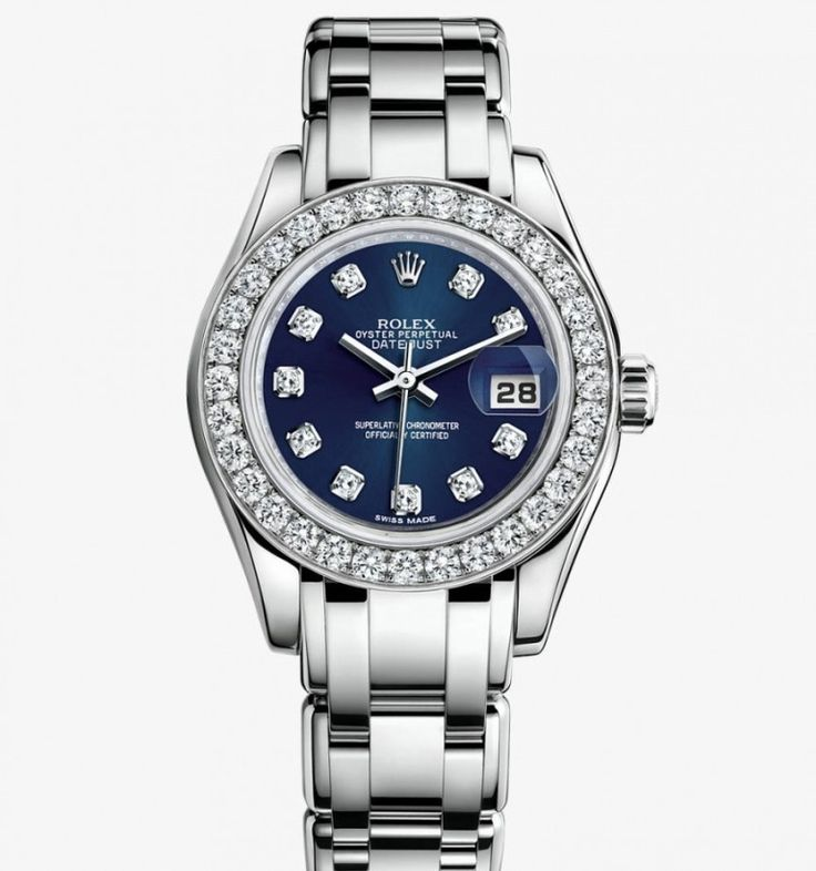 I want my next Rolex to have the sapphire face with diamond markers.