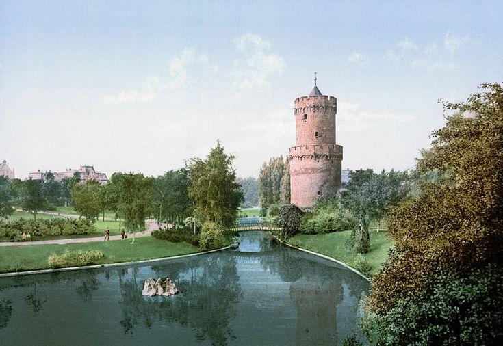 Nijmegen, the Netherlands, Kronenburgerpark 1900