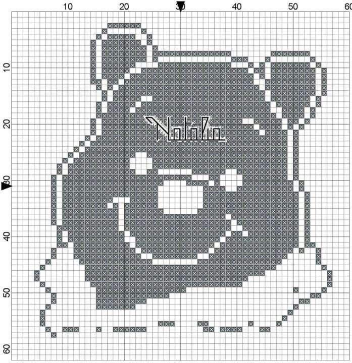 Mejores 25 imágenes de schemi punto croce Winnie pooh en Pinterest ...