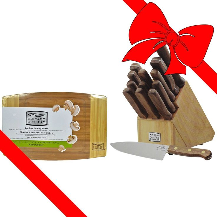 Get upto November 10% off sale on Chicago Cutlery 14PC Walnut Tradition Knife Set  Promo Code: REDRIBBON  Grab This Offer- Hurry Now!