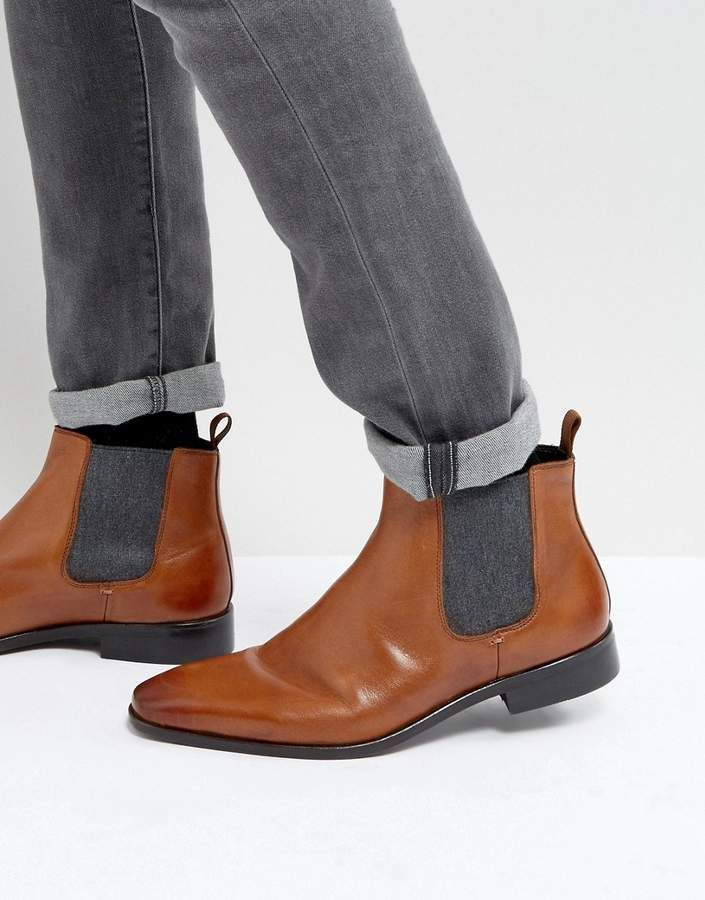 Great Price For A Proper Pair Of Leather Boots Men S Dune Chelsea