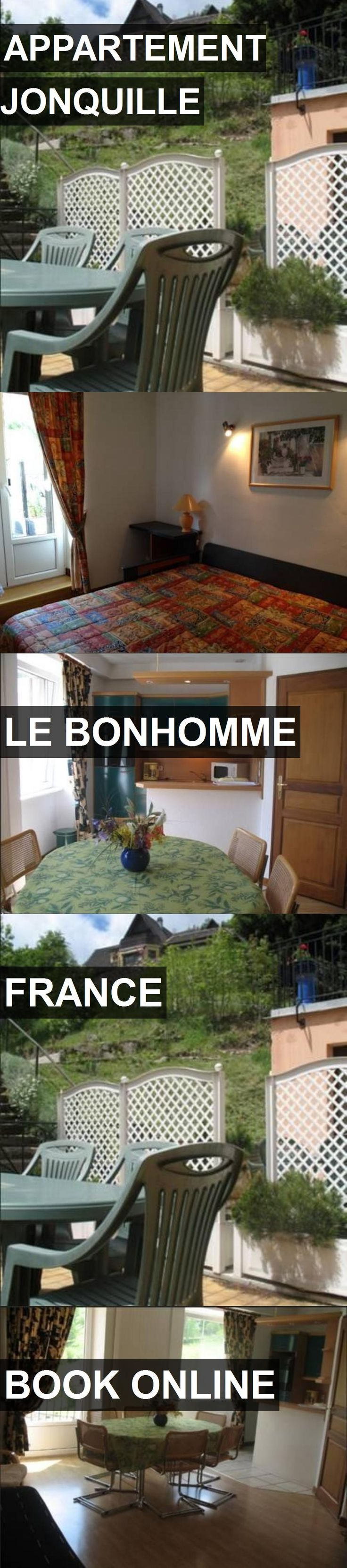 Hotel APPARTEMENT JONQUILLE in Le Bonhomme, France. For more information, photos, reviews and best prices please follow the link. #France #LeBonhomme #travel #vacation #hotel