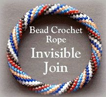 Invisible Closure for Bead Crochet Ropes Pattern at Bead-Patterns.com