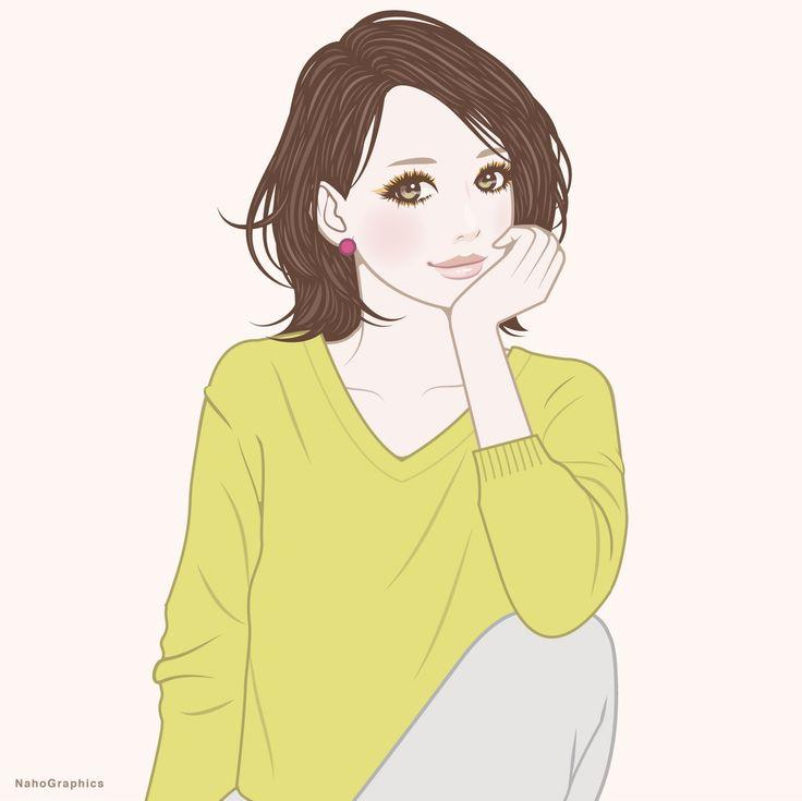 【web】http://naho.tv/ 【twitter】https://twitter.com/NahoGraphics 【Youtube】https://www.youtube.com/channel/UC81jOID4X2mNtjh47jp02oQ 【instragram】https://www.instagram.com/naho_note/  #illustration #drawing #art #simple #design #fashion #hair #hairstyle #face #design #イラスト #イラストレーション #アート #女性イラスト #ドローイング #絵 #make #メイク #女の子 #girl #woman #女性 #ファッション #ゆるふわ #ボブ #ミディアム #線画 #ガーリー #ネイル #パステルカラー #春 #口紅 #lip #pink #spring
