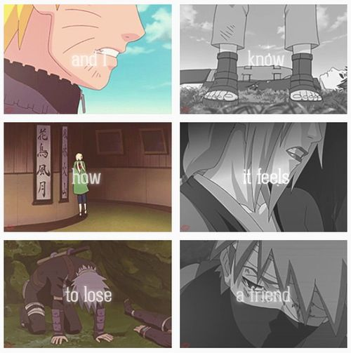 This is so sad.. Naruto quote