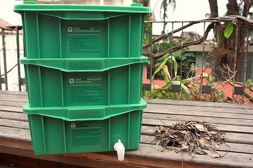 25+ melhores ideias de Composteira no Pinterest | Barril ...