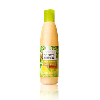 Nature Secrets Shower Cream for Sensitive Skin Jojoba & Mango    Zklidňující sprchový gel s jojobou a mangem Nature Secrets