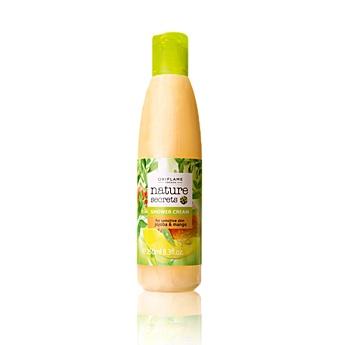 Nature Secrets Shower Cream for Sensitive Skin Jojoba & Mango    Zklidňující sprchový gel s jojobou a mangem Nature Secrets