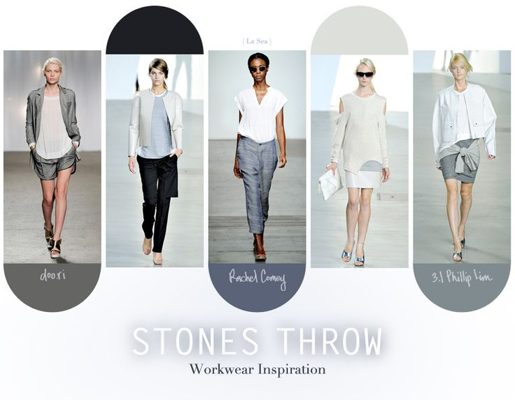 Workwear inspiration from doo.ri, Rachel Comey, and 3.1 Phillip Lim SS2012