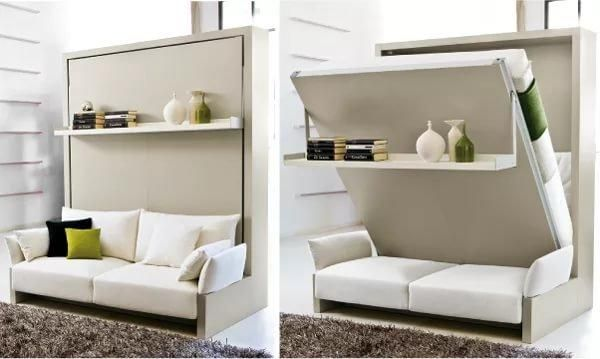 Modern Sofas Transformer Design Ideas To Stretch Small Spaces Visually Murphy Bed How To Make Bed Murphy Bed Ikea