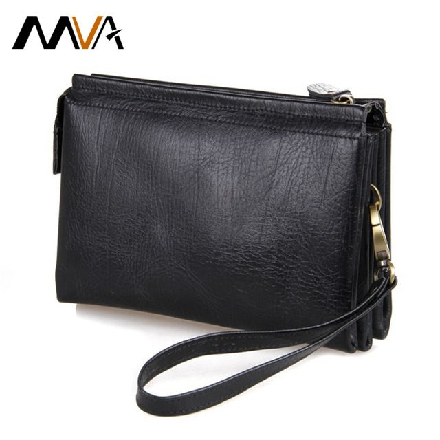 We love it and we know you also love it as well MVA Zipper Men's Wallet Long Genuine Leather Wallets Clutch Bag Leather Purse Wallet Money Phone Card Holder Purse Male Clutch just only $39.27 with free shipping worldwide  #walletsformen Plese click on picture to see our special price for you