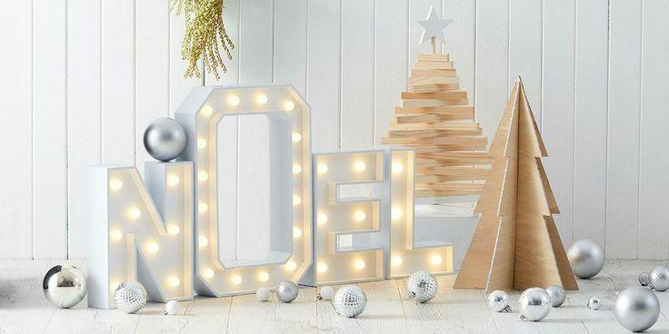 Scandi Christmas. Kmart Australia styling