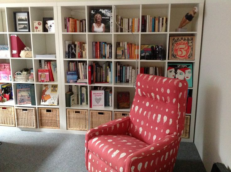 My room with my lovely Vanessa Arbuthnott chair