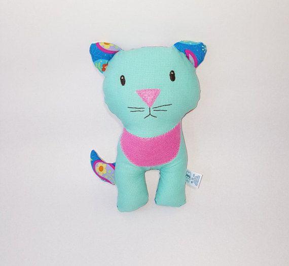 Kitty plushie/ softie/ baby toy gato de trapo por FlofyCo en Etsy