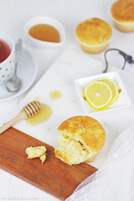 Egg Yolk Muffins / Žloutkové muffiny | Na vidličku food blog