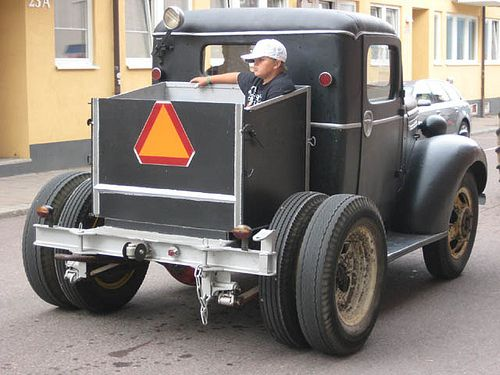 https://flic.kr/p/7xyCpG | IMG_0144 | Doodlebug tractor made from a 1940 Chevrolet truck. Photo from Sweden 2005. This is a collection of images of Homemade tractors, American Doodlebugs, and Swedeish A and Epa-traktorer. Many of the images here I have found all over the internet! If anyone find their own image here and disapprove of me showing it here, just send me a message and I will remove it/them images!