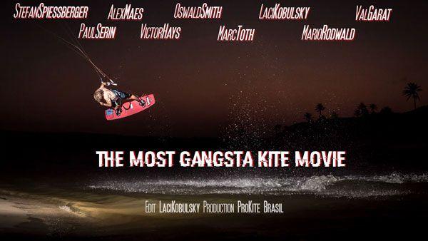 The Most Gangsta Kiteboarding Movie by Pro Kite Brasil!