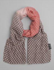 Modischer Tupfen-Schal