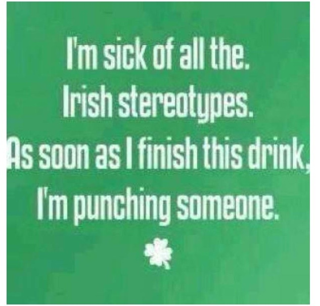 Irish Stereotypes.