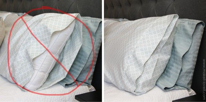 Envelope Closure Pillowcase (for bed pillows) | Make It and Love It