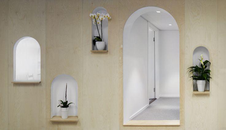 Brukeropplevelseskonsulentene i Netlife Research ba Eriksen Skajaa Arkitekter om å gi deres nye lokaler ulike typer rom for fantasi og fleksibilitet. Utfordringen med lav takhøyde og dype, mørke rom g...