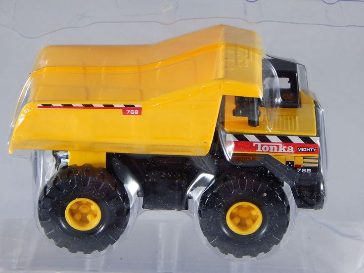 1998 Maisto Tonka Hasbro Mighty Mini Construction Dump Truck 768 Die Cast NIB #Tonka