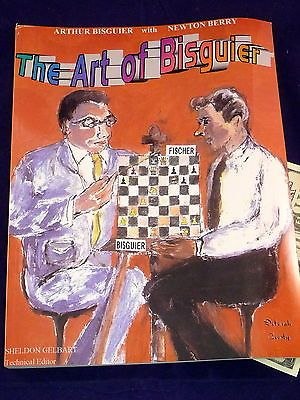 The Art of Bisguier Vol 1 The Early Years 1945-1960 Signed 1st Ed Chess Book Toys & Hobbies:Games:Chess:Vintage Chess www.internetauctionservicesllc.com $59.99