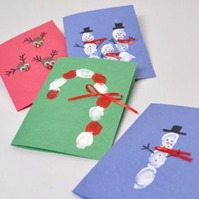 Fun and Creative Holiday Fingerprint Art Projects | X-ACTO