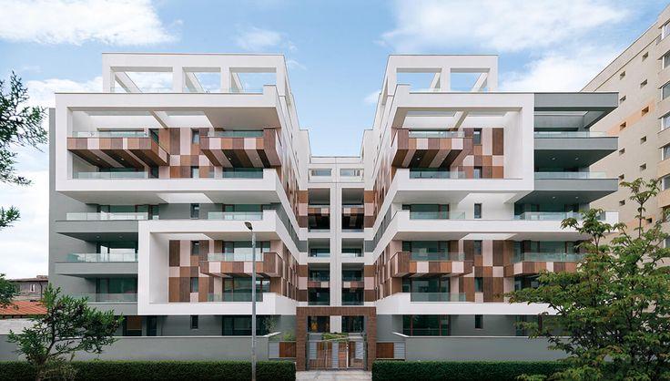 """igloo architecture a fost invitat să contribuie la un soi de """"operație estetică"""", întru afirmarea identității unui ansamblu rezidențial a cărui structură din beton armat se insinuase deja pe o stradă din vecinătatea bulevardului Ion Mihalache. Intervențiile practicate s-au născut di…"""