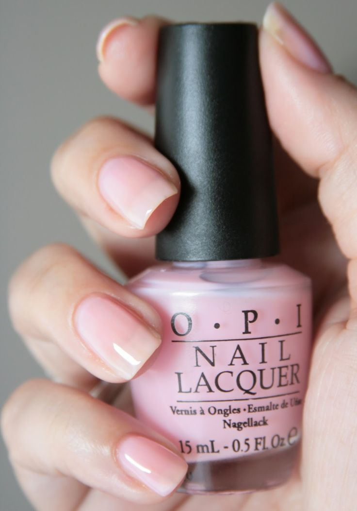 OPI In The Spot-Light Pink - love this color! As everyone knows I only seem to wear pinks....truly a winner!