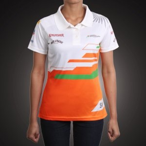 New Reebok Force India Formula One Jersey 2012 - for women