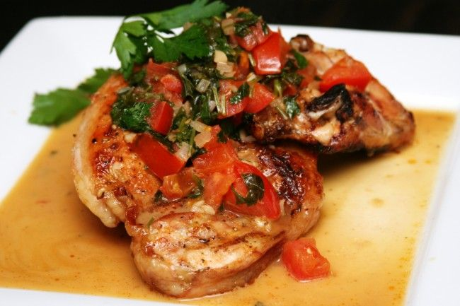 grilled-chicken-with-tomato-and-italian-parsley-in-marsala-wine-sauce