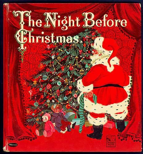 My favorite childtime christmas book; The Night Before Christmas Moore 1960 by seasidecollectibles