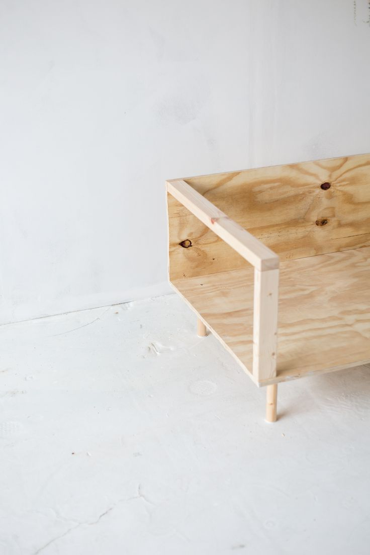 DIY: hippe houten sofa