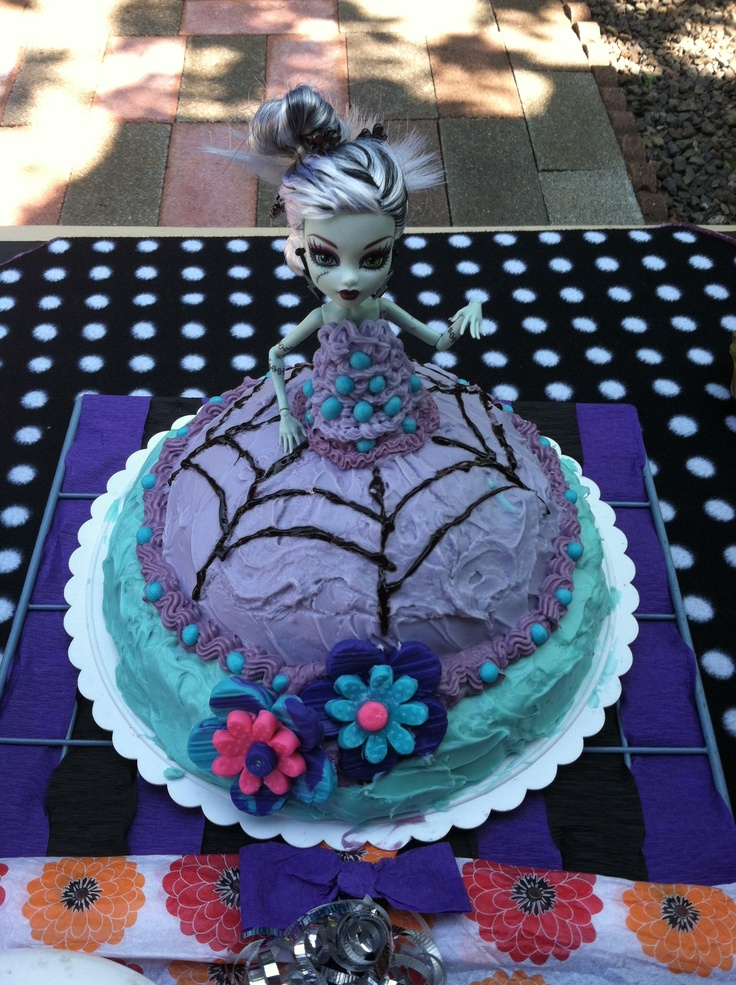 36 Best Monster High Bday Cake Ideas Images On Pinterest