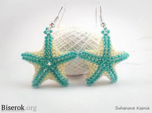 A round-up of starfish tutorials by Beading Gem.  Enough to keep anyone busy a while... ~ Seed Bead Tutorials