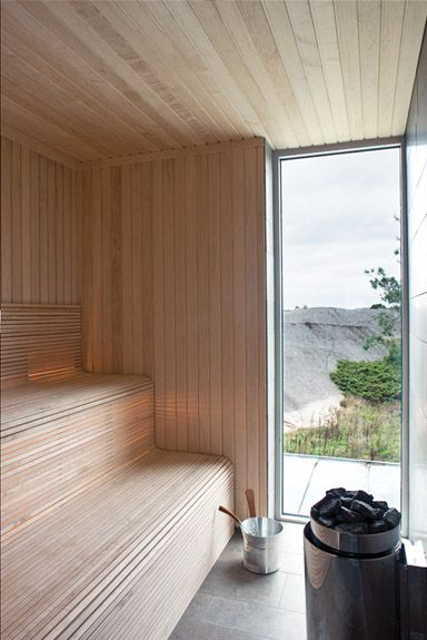 Gert Wingårdh's Sauna | Photography by Jean-François Jaussaud (Woodworking Outdoor)