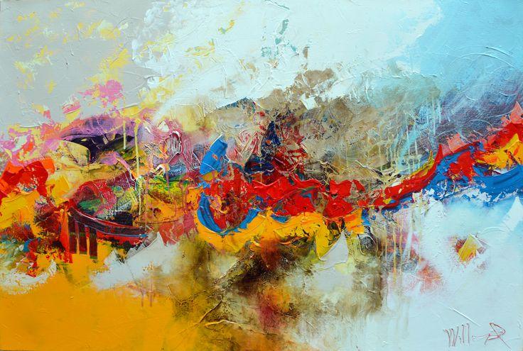 150x100cm door William Malucu - Te huur/te koop via Abrahamart.com  #art #painting #kunst #kunstuitleen #WilliamMalucu #abrahamart #bramreijnders #Eindhoven
