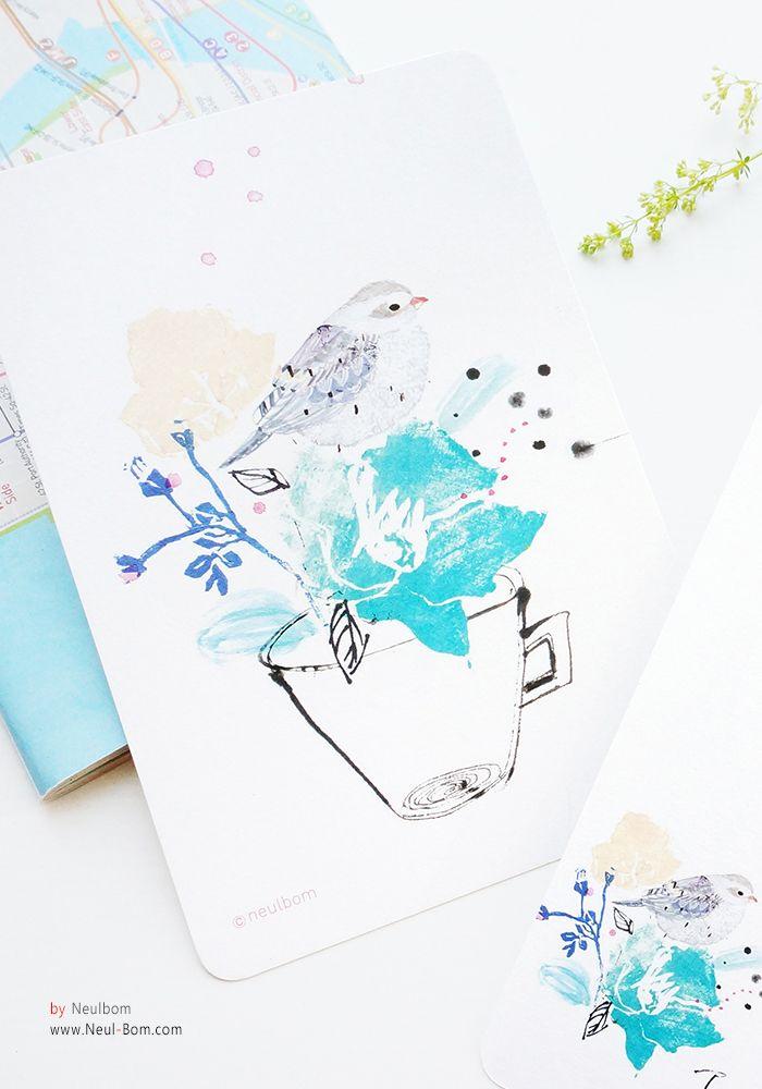 Healing] illust by neulbom