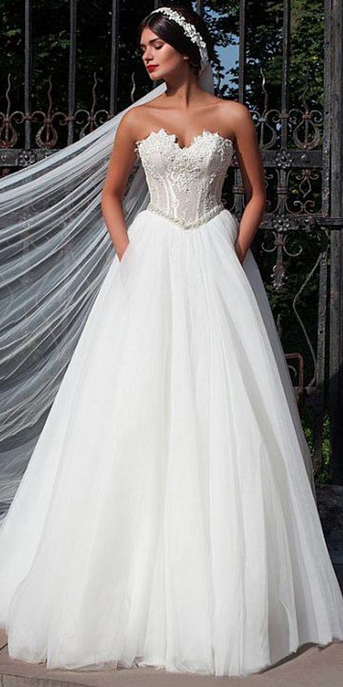 20+ Beautiful wedding dresses for 20 year old brides ideas Check ...