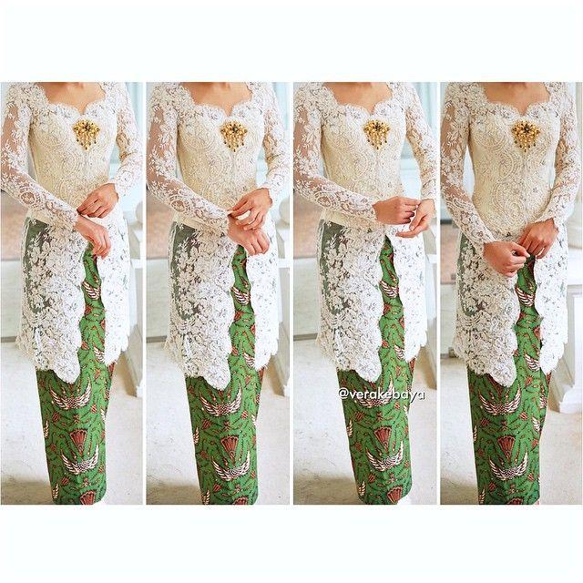 Fitting 👰 #kebaya #akadnikah #batik #bride #weddingdress