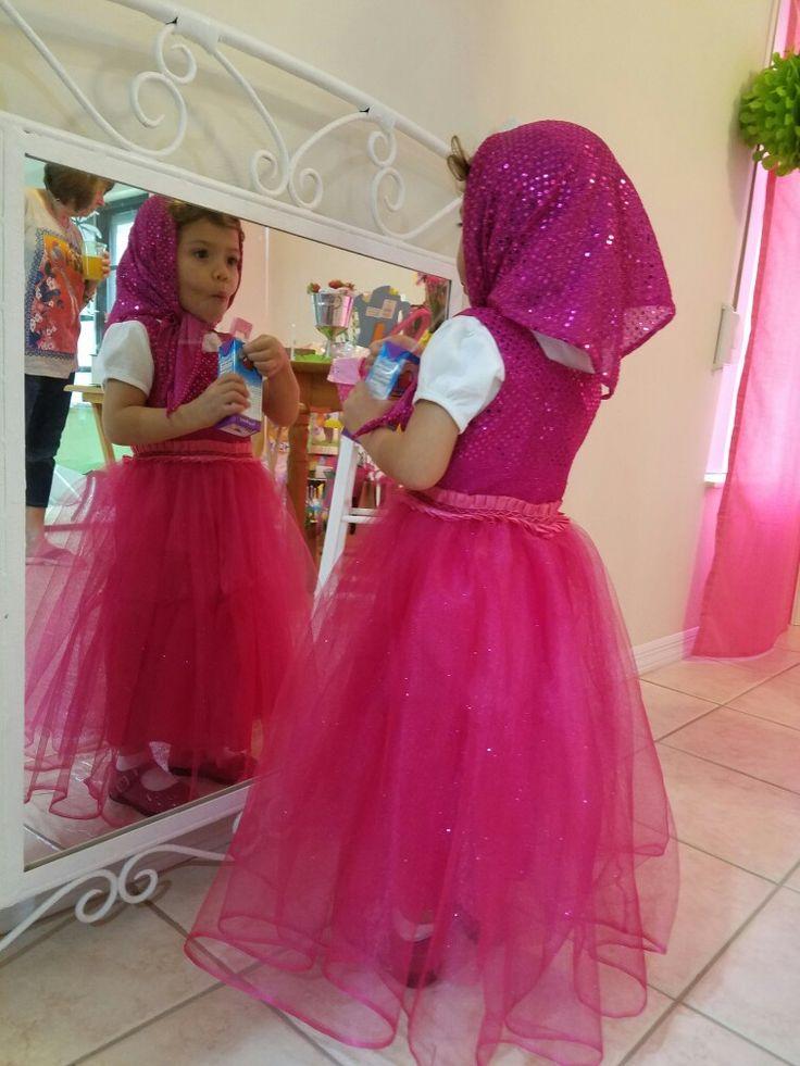 Vestido de Masha Masha's dress