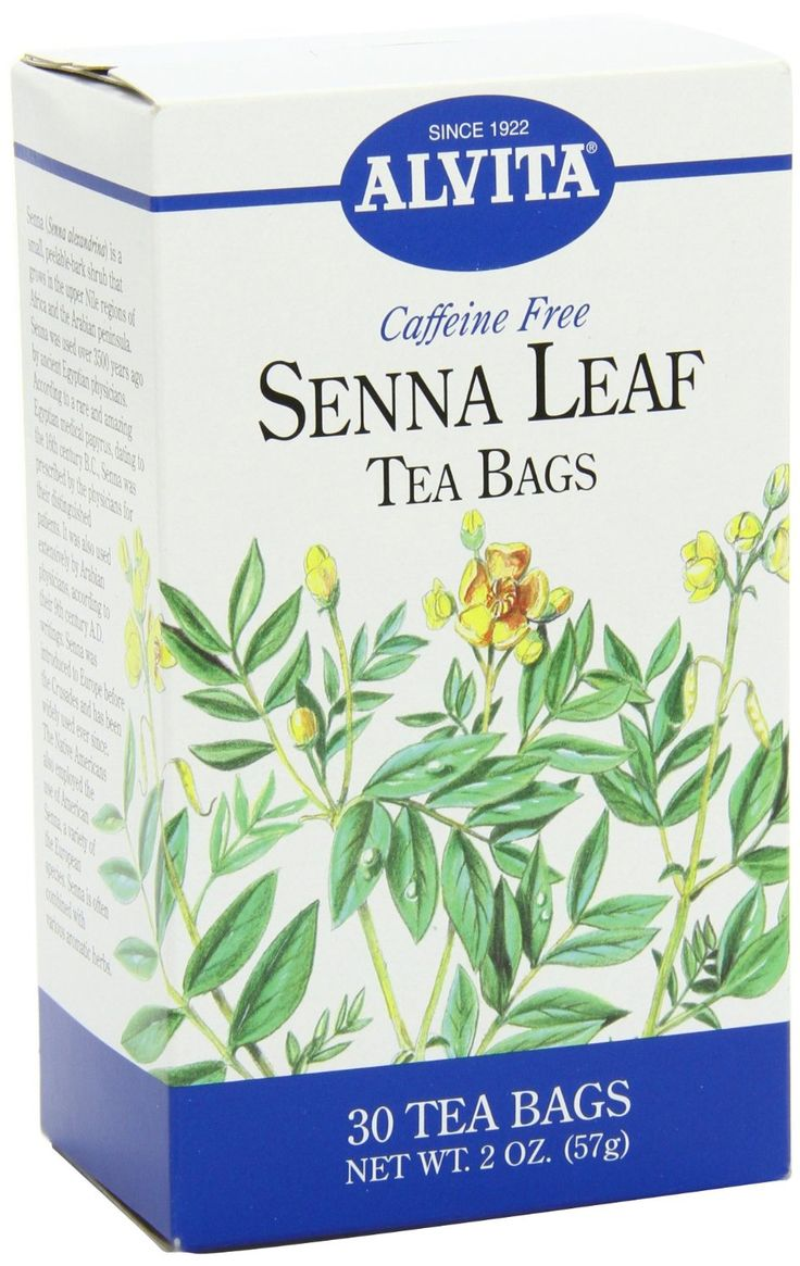Senna Leaf Tea Bags.