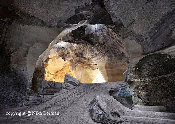 Bell cave at TelMaresha Book of Joshua 1544 Keilah by NikaLerman, $25.00