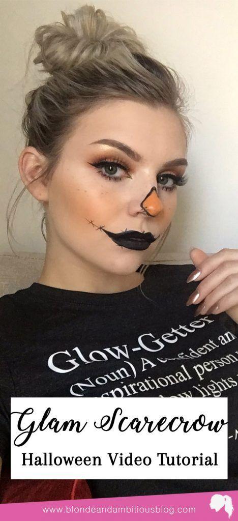 Halloween Tutorial Series: Glam Scarecrow