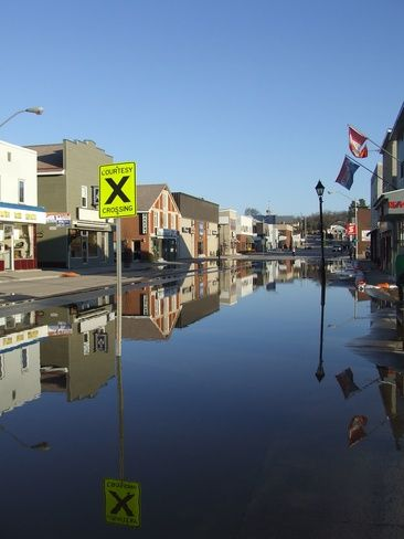 Main Street, Bancroft, Ontario April 21, 2013