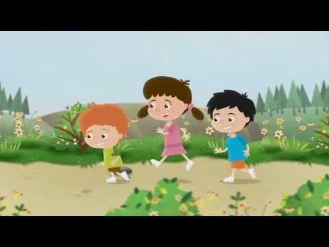 Bocian - animowany teledysk dla dzieci - YouTube
