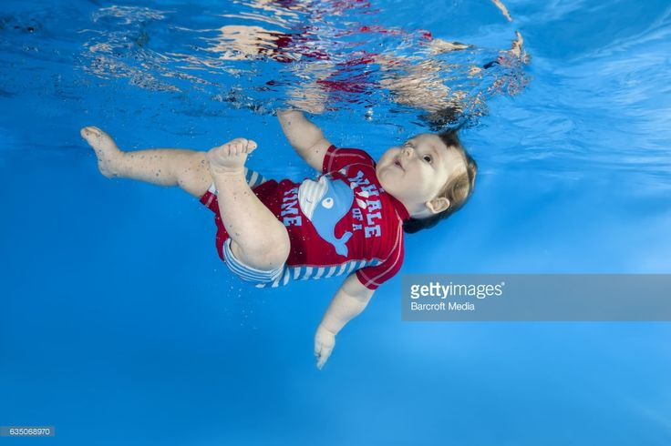 Litle boy in red poses underwater in swimming pool on February 09, 2017 in Odessa, Ukraine. Andrey Nekrasov / Barcroft Images hello@barcroftmedia.com - +1 212 796 2458 +91 11 4053 2429