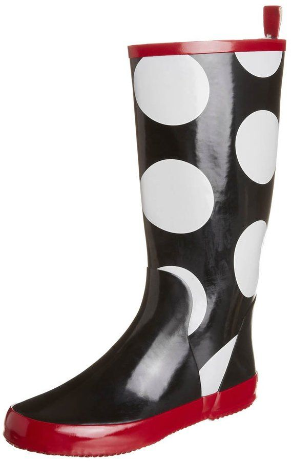Lola Ramona HOLLY Wellies black/white